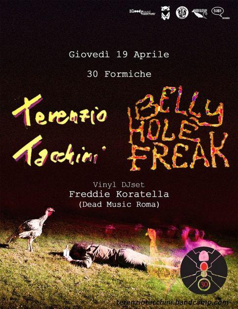 Terenzio Tacchini + Belly Hole Freak + Dead Music DjSet