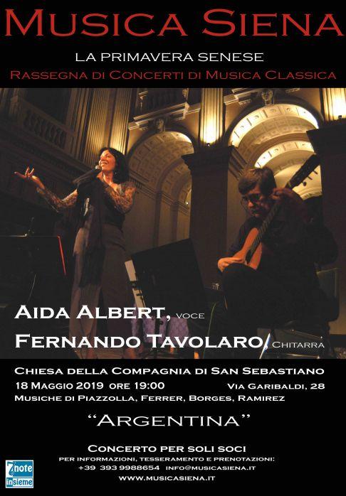 Aida Albert - Fernando Tavolaro