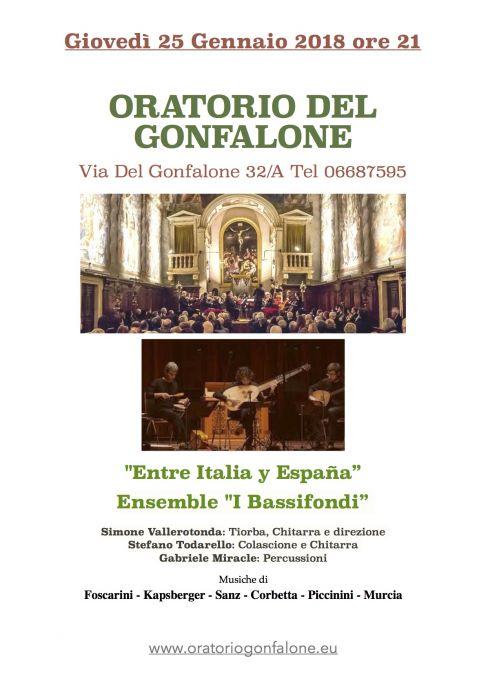 Entre Italia y España