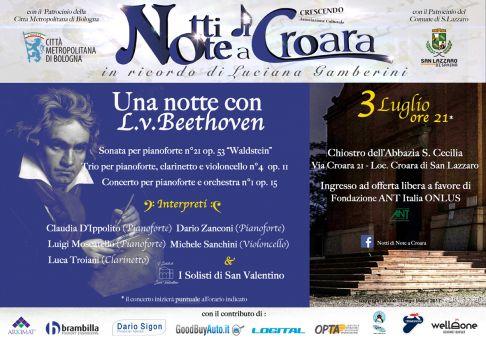 Notti di Note a Croara - Una Notte con Beethoven