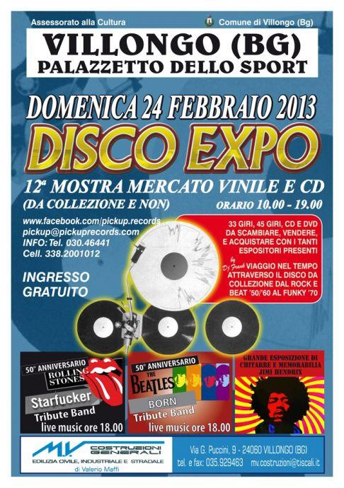 Disco Expo: 12� Mostra Mercato del Vinile, Cd, Dvd