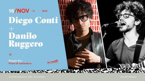 Diego Conti e Danilo Ruggero
