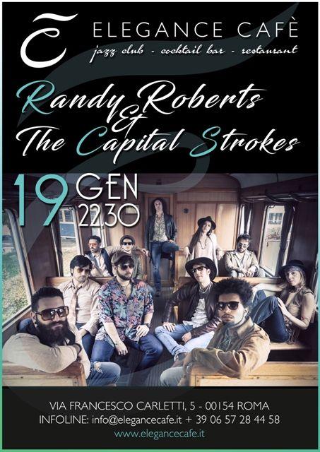 Randy Roberts & The Capital Strokes