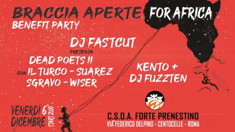 A Braccia Aperte for Africa Benefit Party