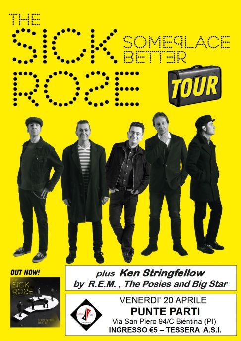 The Sick Rose + Ken Stringfellow