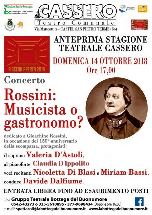 Rossini: Musicista o gastronomo?