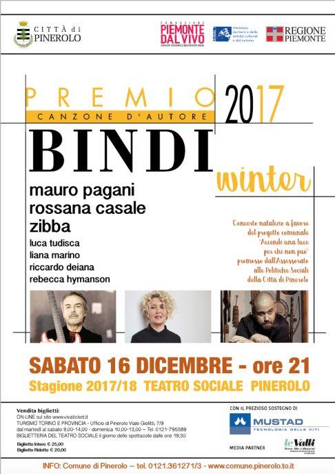 Premio Bindi Winter 2017