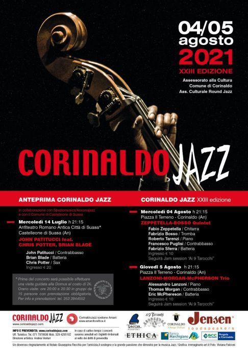 Corinaldo Jazz 2021 – XXIII Edizione