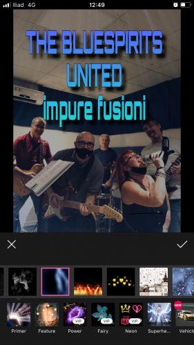 THE BLUESPIRITS UNITED impure fusioni