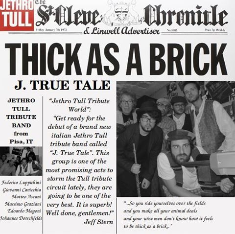J. True Tale - Tribute Band Jethro Tull