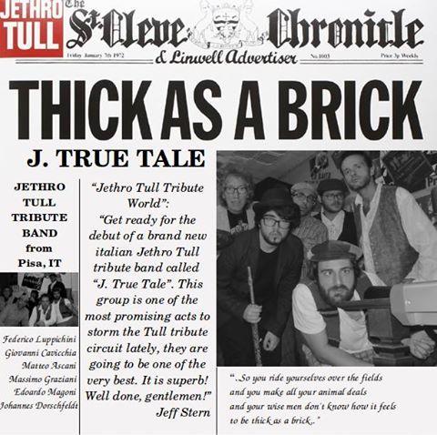 J. True Tale - Tribute Band Jethro Tull